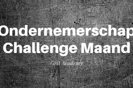 Ondernemerschap Challenge Maand