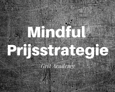 Workshop Mindful Prijsstrategie