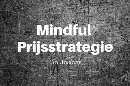 Workshop Mindful Prijsstrategie