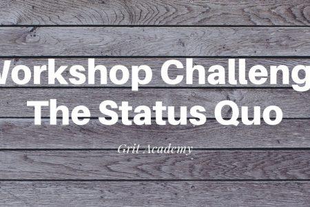 Masterclass Challenge The Status Quo